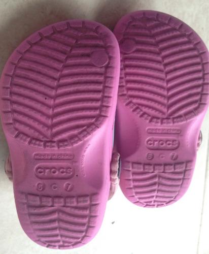sandalias cholas crocs originales disney importadas