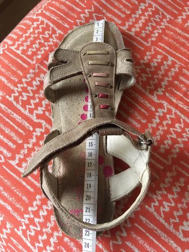 sandalias clarks de niña talla  35 y 1/2