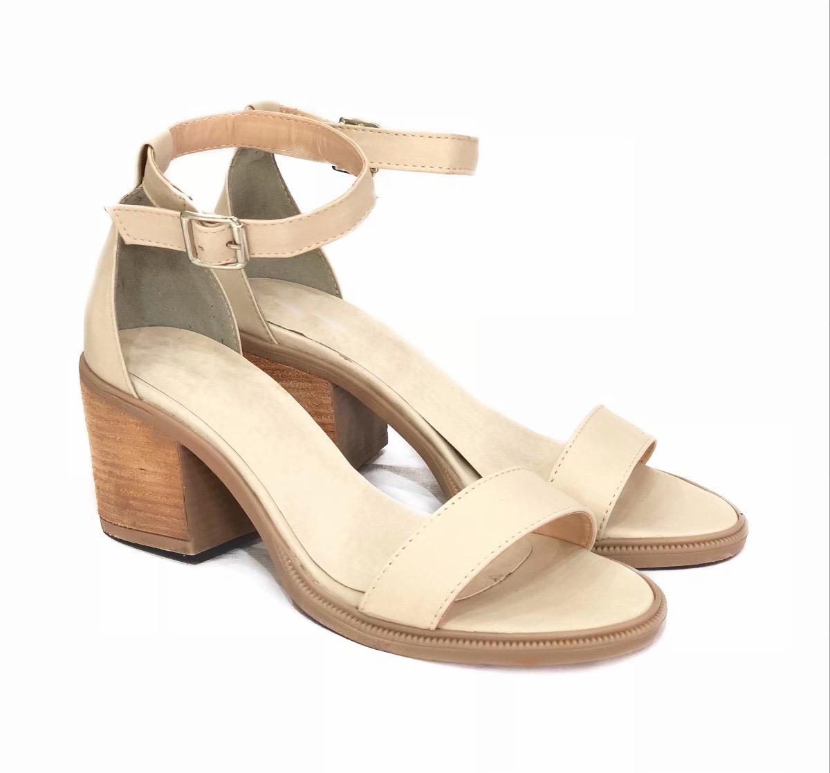 e74eed25fc5 sandalias clásicas zapatos señora taco cuero mujer mousse. Cargando zoom.