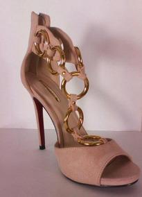 Rosa Zapatos Mujer Nude En Mercado Color Stradivarius KuF3lT1Jc