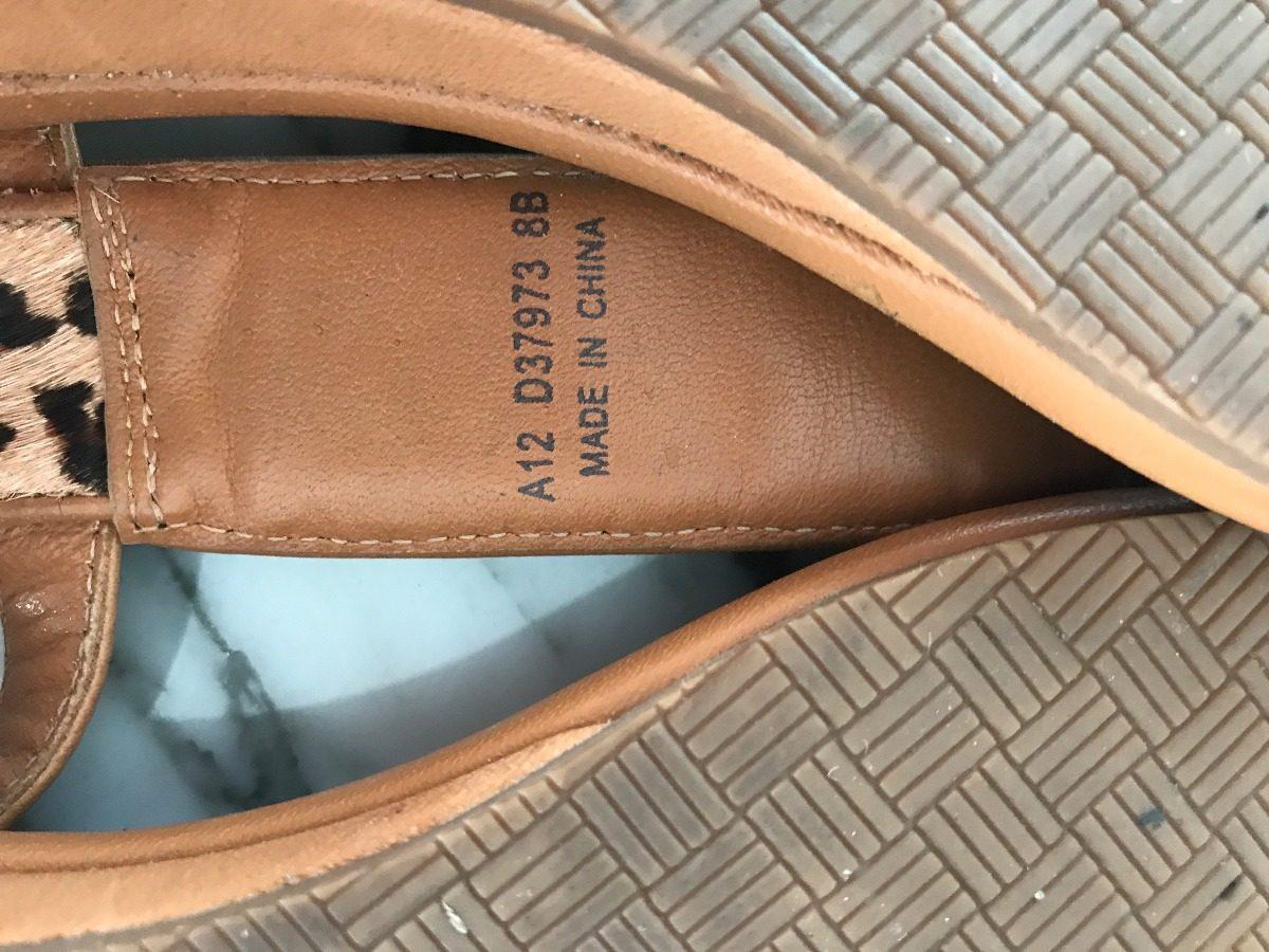 sandalias con animal print cole haan - talle 38 - usadas. Cargando zoom. c4b64b54b7a