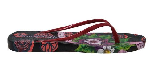 sandalias con estampado de flores frida kahlo fc-3082