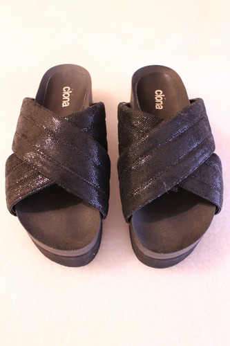 sandalias con plataforma  clona