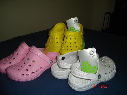 sandalias crocs baya