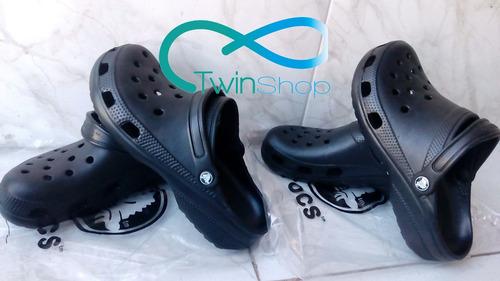 sandalias crocs clasicas marron
