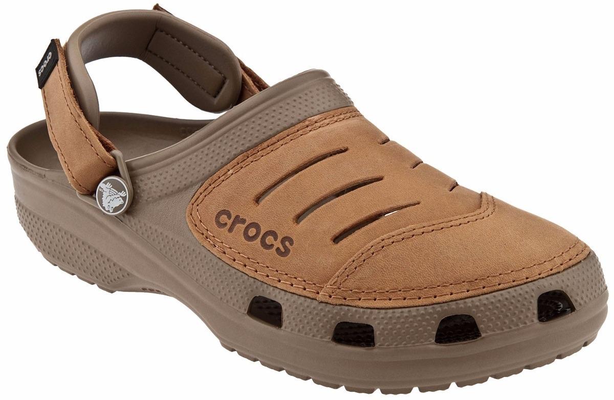 Ocre Sandalias Envio Hombre Gratis Crocs Yukon Cuero WCErBQdxoe