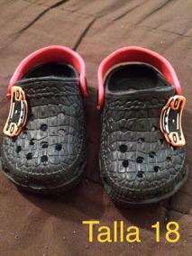 Crocs Cars Nuevas 18 Niños Talla Sandalias 6yvYbgf7I