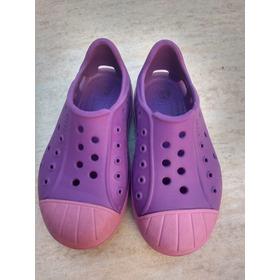 Sandalias Crocs Tipo Zapatillas Originales C 8 Como Nuevas