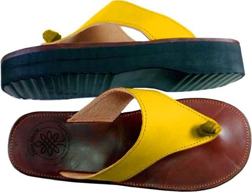 sandalias cuero artesanal t/talles -  promo 3x2!!