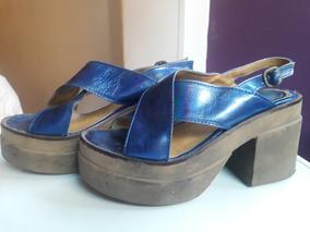 N°39 Woodland Forrados En Sandalias Azul Zapatos Lavanda De Satén 7fY6byg