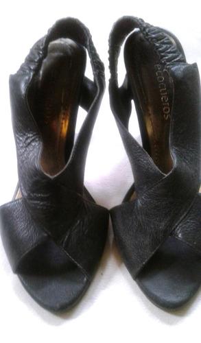 sandalias cuero legitimo suela febo - no envio