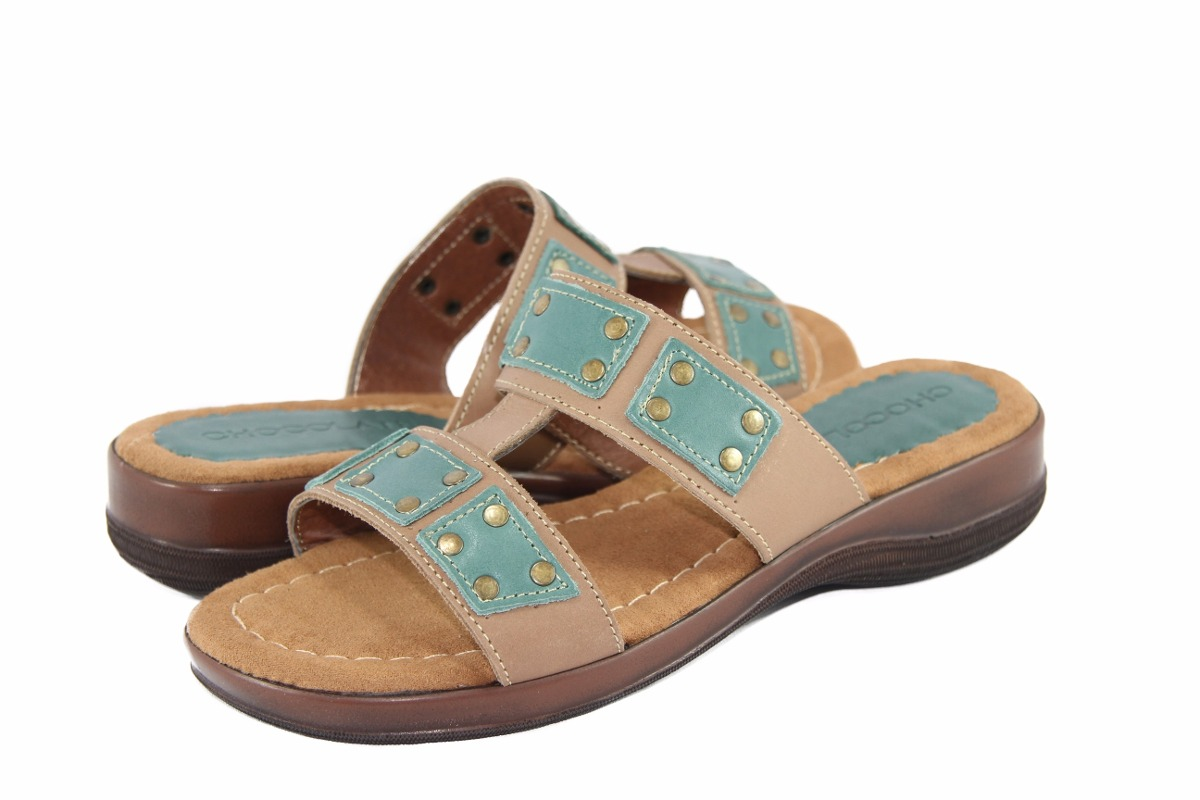 9b1f78f5b sandalias dama chocolate cuero taco 4cm zapatos. Cargando zoom.
