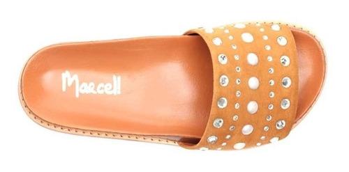 sandalias dama cuero marcel calzados (cod.19054)