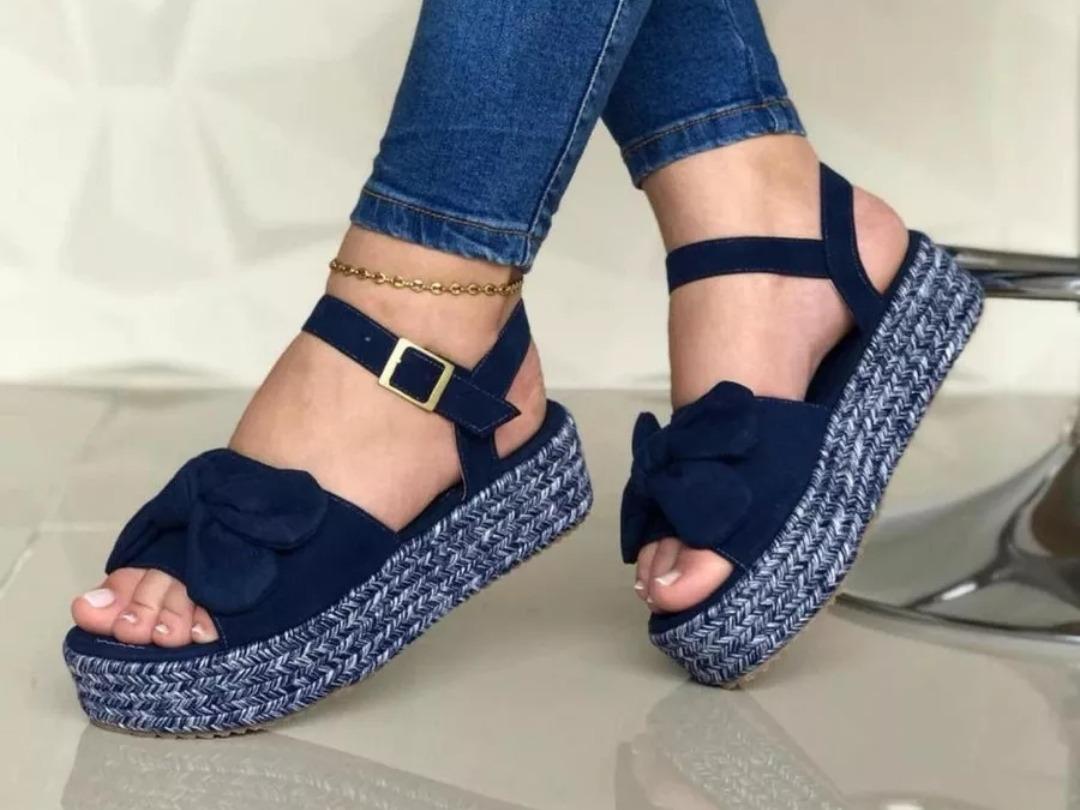 3e156e9634 sandalias dama yute moda calzado colombiano azul nude negro. Cargando zoom.