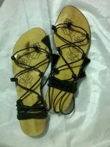 sandalias damas gladiadoras romanas zapatos mayor y detal