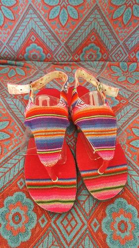 sandalias de aguayo
