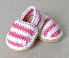 A Crochet Tejidas Sandalias De Bebe dCxoBre
