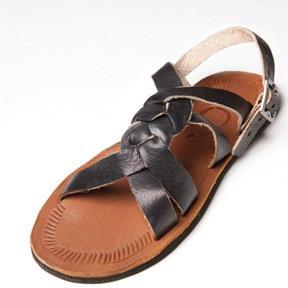 sandálias de couros masculina & femininas