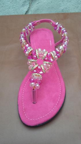 sandalias de cristal 100% artesanales