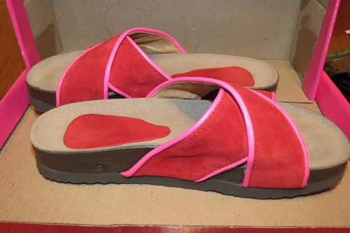 sandalias de cuero de mujer talle 38