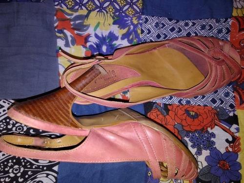 sandalias de cuero núm 35
