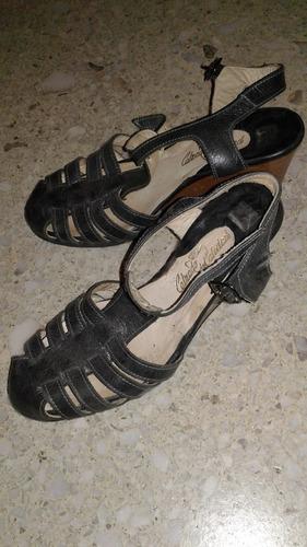 sandalias de cuero talle 36
