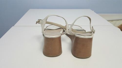 sandalias de cuero venet