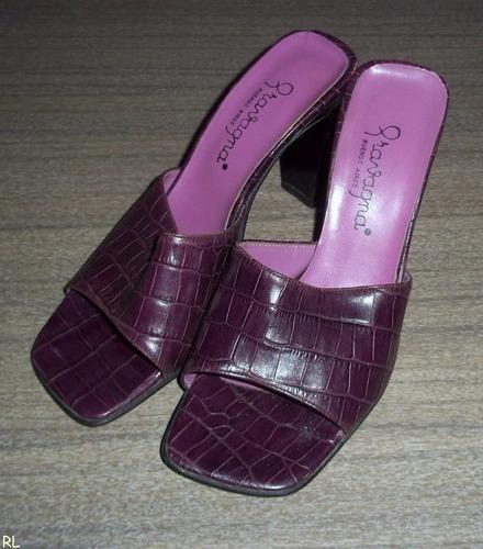 sandalias de cuero.n°36.gravagna.muy buenas!! vivimar7