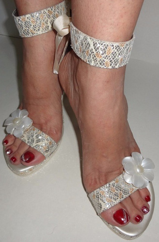 sandalias de fiesta lucchi talla 40