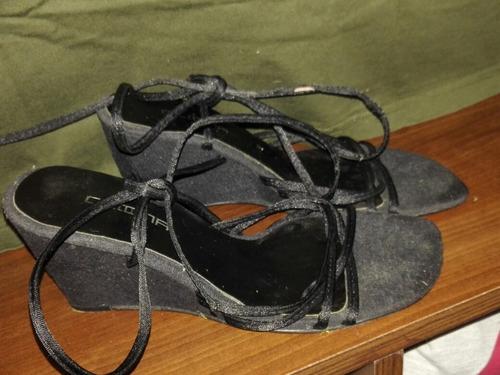 sandalias de fiesta taco chino numero ,38