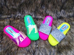 Mercado Zapatos Mujer Color Gomas Libre Neon Sandalias En Venezuela Yfb76yvIgm