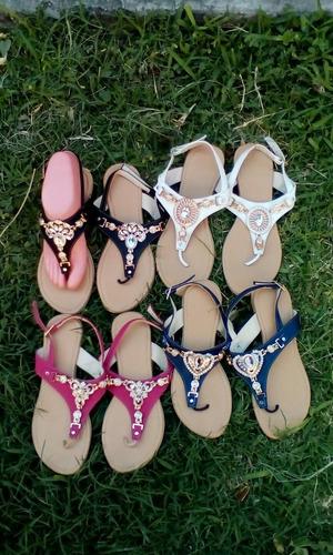 sandalias de moda con herrajes num 4 y 5