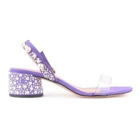 Sandalias De Mujer De Cuero Y Sintético Marie - Ferraro -