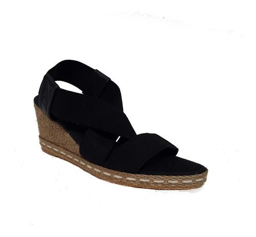 sandalias de mujer elastizada con taco chino - 350