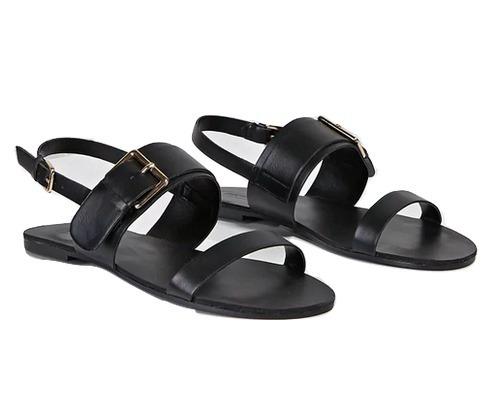 sandalias de mujer forever 21 color negro -