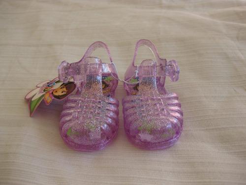sandalias de nena importadas de dora la exploradora nuevas