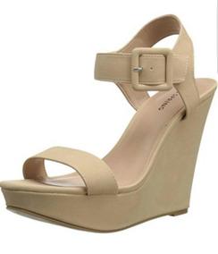 4d6ad7244d3 Sandalias De Plataforma Beige Zapatos 37-38 Envío! Serenity