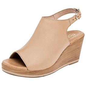643e5177 Zapatos Flexi Dama Plataforma Color Cafe - Zapatos Beige en Mercado ...