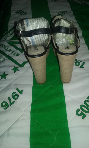 sandalias de tacon mujer
