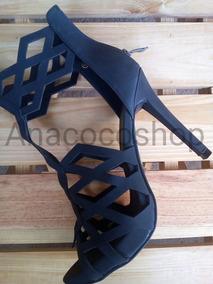Sandalias 40 Importadas Color Negro Talla Tacon De Tacones PXOikZu