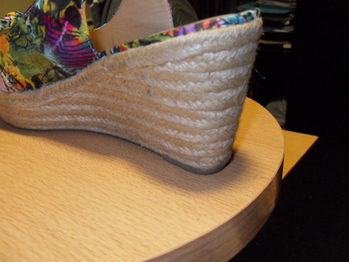 69531eb85 sandalias de tela con suela de yute. Cargando zoom.