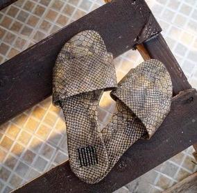 Sandalias Con Cocodrilo Textura De Talla 5 Verano Mexicanos Fl1JKc