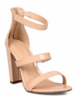sandalias de vestir importadas marca nubuck pu tri strap