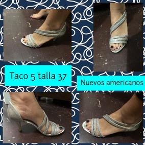 Taco De 5 Americanas Sandalias Vestir Nuevos nmN8v0wO