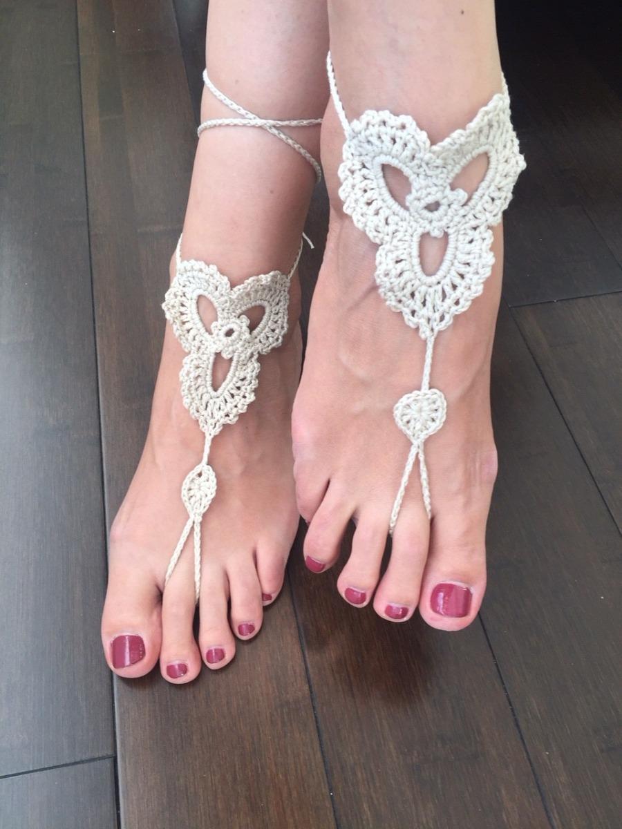 Sandalias A Tejidas Tejidas Crochet Sandalias Descalzas Descalzas A Tejidas Crochet Sandalias Descalzas A Pk0w8nO