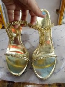 Mercado Zapatos En Mujer Libre Doradas Venezuela Sandalias Elegantes fg7b6yvY