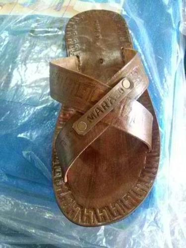 sandalias em couro artesana