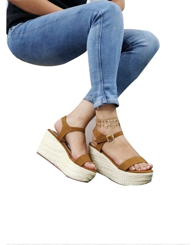 sandalias estilo plataformas. envió gratis.