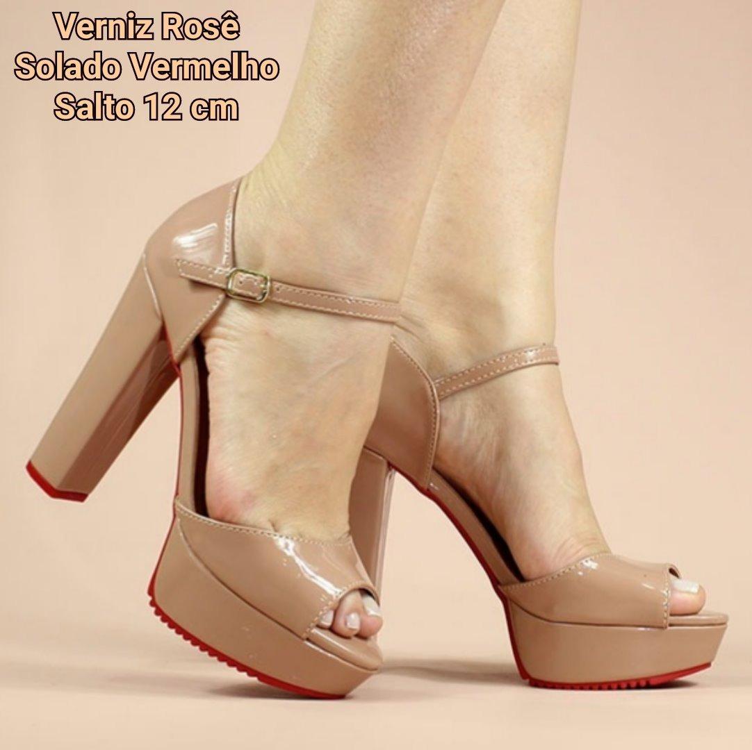 5bf1fe0ca sandalias femininas sandalia meia pata plataforma salto 12. Carregando zoom.