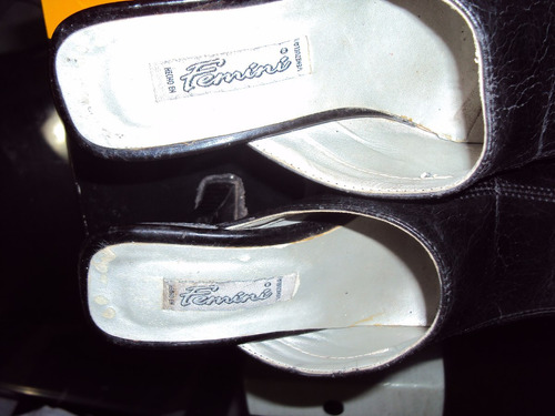 sandalias feminis de cuero talla 36